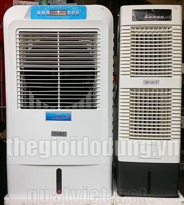 2 quạt điều hòa hơi nước làm mát không khí Osaka