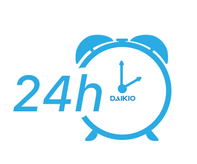 Máy làm mát Daikio DK-800A có thể hẹn giờ đến 24 tiếng