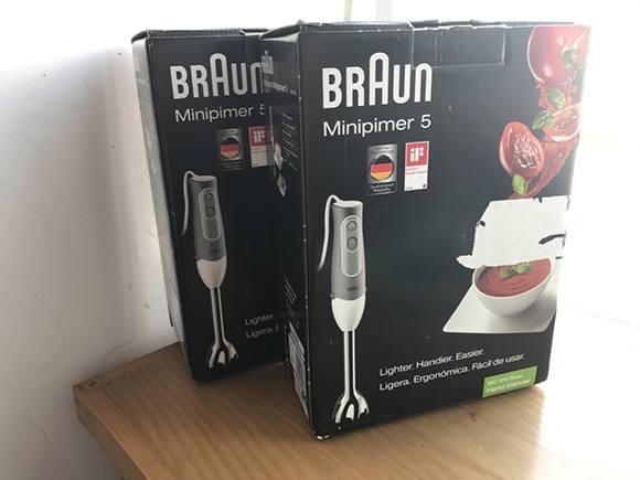 Máy xay sinh tố cầm tay Braun MQ500