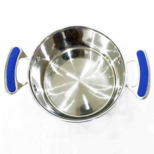 Bộ nồi inox Smartcook SMX3 bên trong lòng có vạch chia mức nước giúp bạn dễ dàng nấu ăn hơn