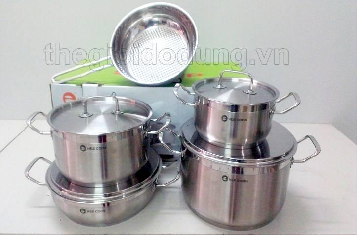 Bộ nồi bếp từ H&E Cook nấu được trên mọi loại bếp