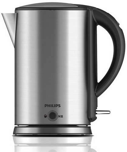 Ấm siêu tốc inox Philips HD 9316 có đèn báo tiện lợi
