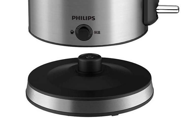Ấm siêu tốc inox Philips HD 9316 mâm nhiệt phẳng