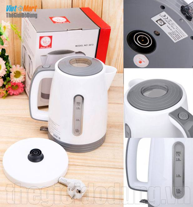 Ấm đun nước siêu tốc Smartcook - SM6872