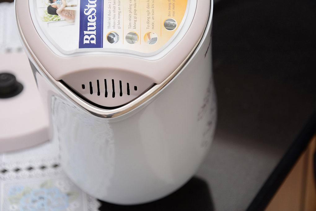 bình đun nước siêu tốc Bluestone 3355 nắp ấm