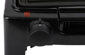 Núm điều chỉnh nhiệt độ của bếp nướng điện Bluestone EGB-7418