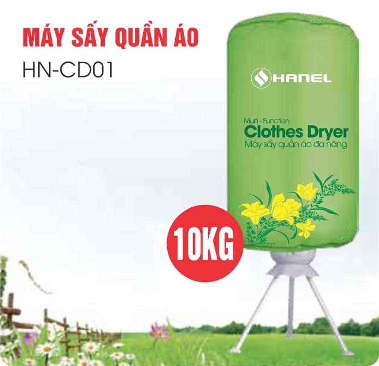 Máy sấy quần áo Hanel HN CD01