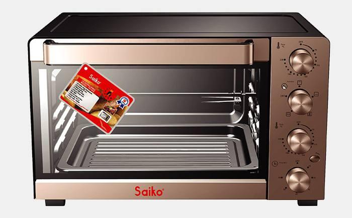 Lò nướng bánh Saiko TO 35G 35 lít