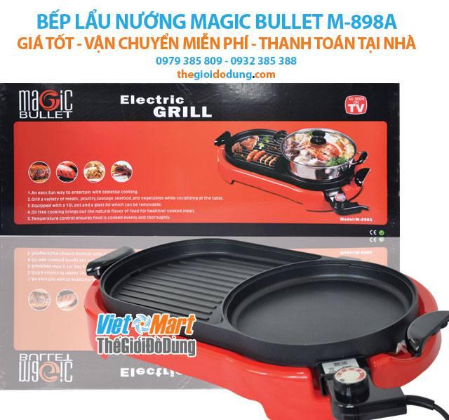 Bếp nướng điện không khói Magic Bullet M-898A