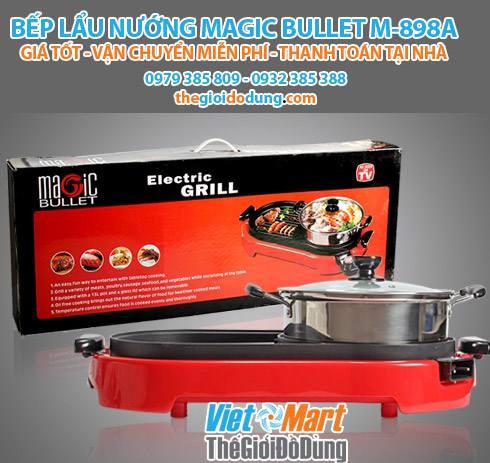 Bếp lẩu nướng Magic Bullet M898A