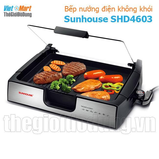 Bếp nướng điện không khói Sunhouse SHD4603