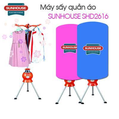 Máy sấy khô quần áo Sunhouse SHD 2616