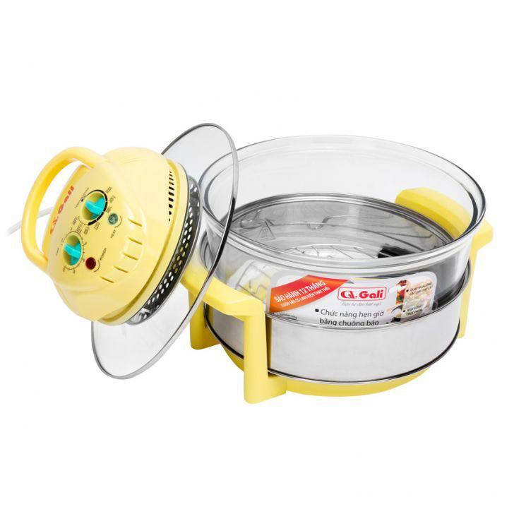 Lò nướng thủy tinh Gali GL-1100 17 lít