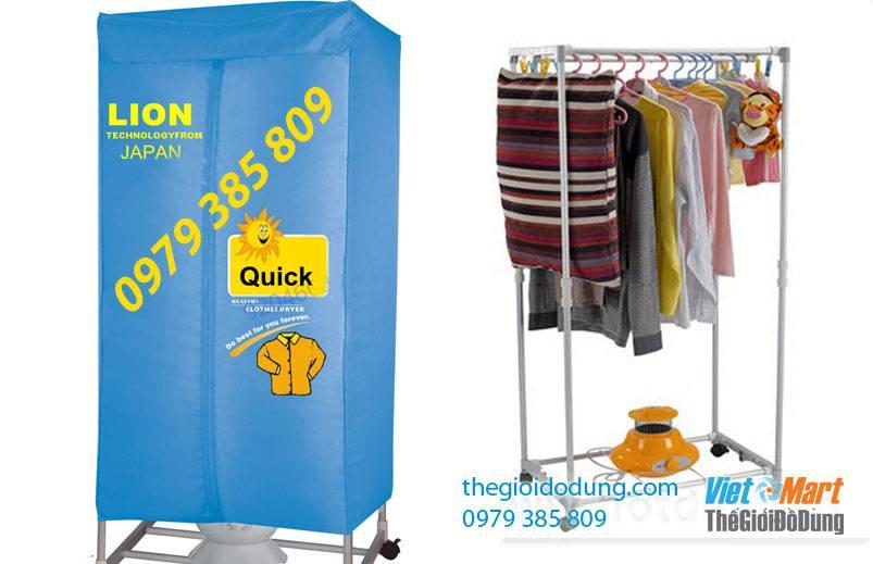Tủ sấy quần áo Lion H802 giá rẻ