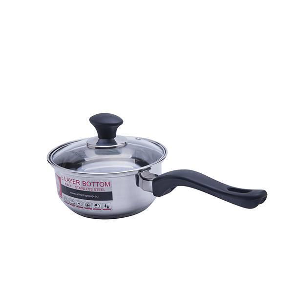 Bộ nồi Smartcook SM1496 quai cầm dài dễ dàng nấu ăn