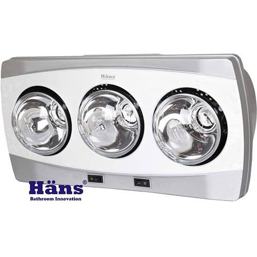 Đèn sưởi nhà tắm Hans-H3B treo tường