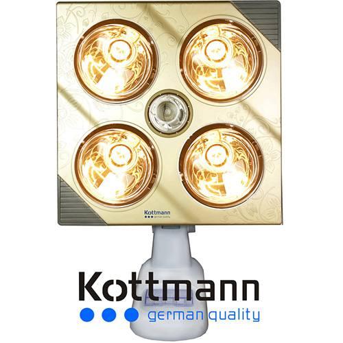 Đèn sưởi nhà tắm Kottmann-K4B-G