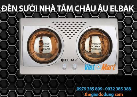 Đèn sưởi ấm nhà tắm Elbak BH2550H