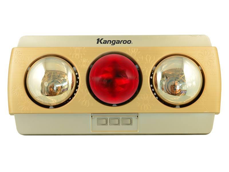 Đèn sưởi nhà tắm Kangaroo KG252A 3 bóng vàng