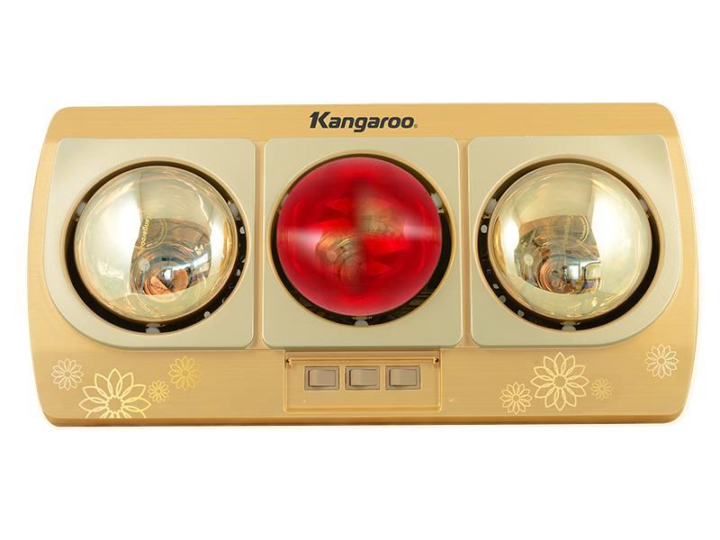Đèn sưởi nhà tắm Kangaroo KG252B 3 bóng