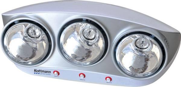 Đèn sưởi nhà tắm Kottmann K3B-S 3 bóng