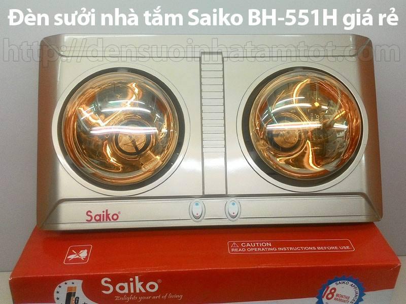 Đèn sưởi nhà tắm Saiko BH 551H