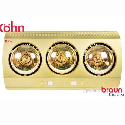 Đèn sưởi ấm nhà tắm Kohn KN03G