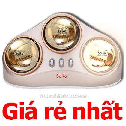 Đèn sưởi nhà tắm Saiko BH-735H 3 bóng