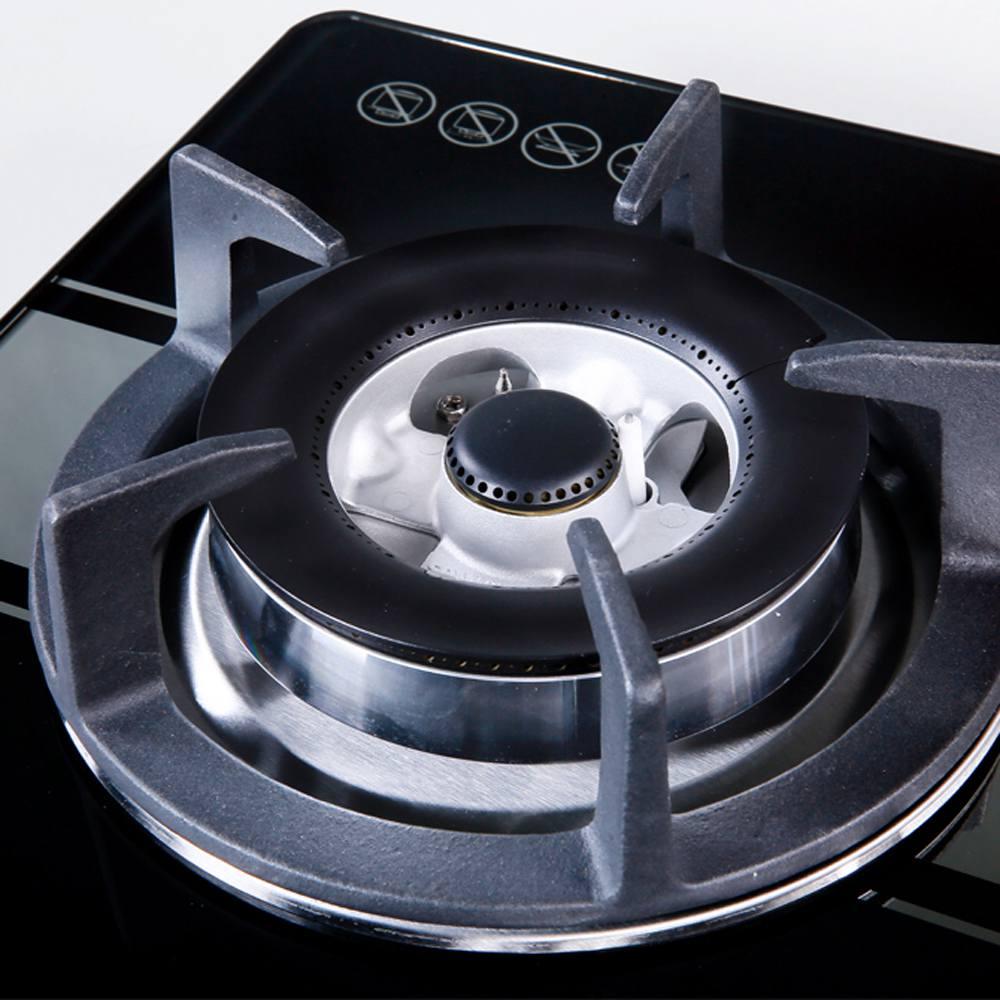 Bếp gas APEX APB8801 hai bếp nấu lắp đặt âm kiềng gang đúc nguyên khối