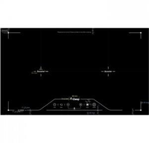 Bếp từ đa điểm Canzy CZ QD03 phím điều khiển cảm ứng mặt kính gốm SchottCeran chịu nặng cao cấp