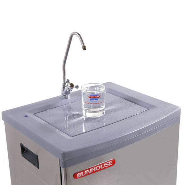 Nước được lọc qua máy lọc nước Sunhouse đạt chuẩn, uống được trực tiếp mà không cần đun sôi