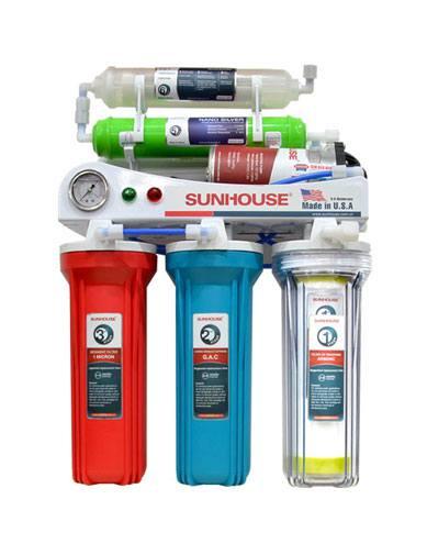 Máy lọc nước Sunhouse SHR8836 có màng lọc RO