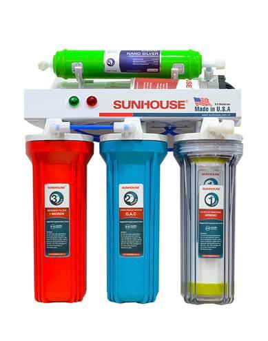 Máy lọc nước màng lọc RO Sunhouse SHR8825
