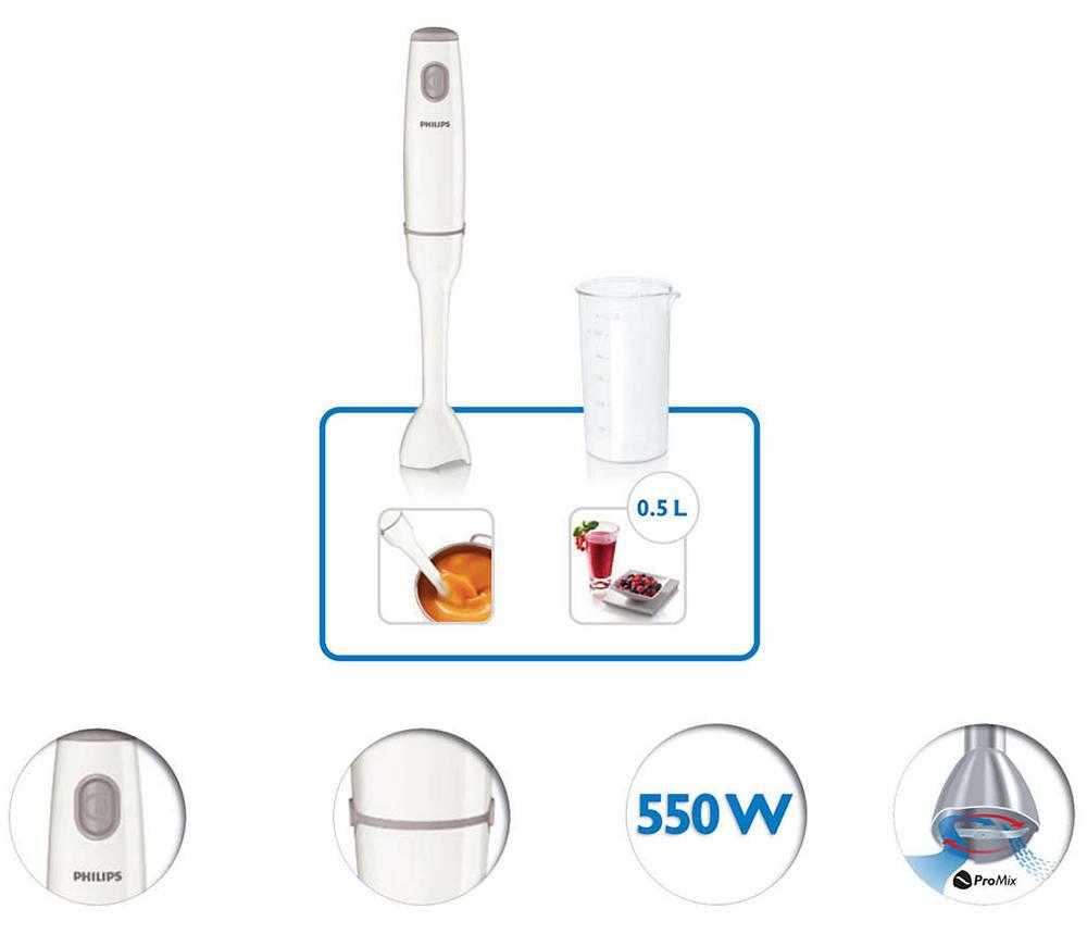 Máy có công suất xay mạnh mẽ lên đến 550W giúp xay nhuyễn nhiều loại thực phẩm khác nhau
