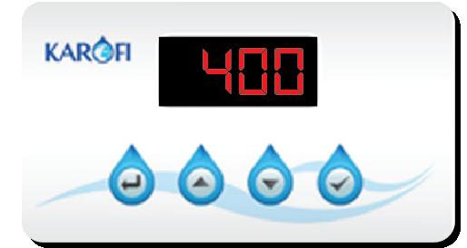 Bộ vi điều khiển thông minh của máy lọc nước iRO 1.1, 9 cấp