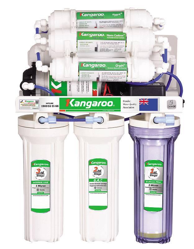 Máy lọc nước Kangaroo Hydrogen KG100HQ 9 lõi lọc