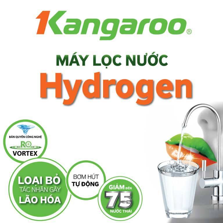 Máy lọc nước Kangaroo Hydrogen KG100HQ 9 cấp lọc