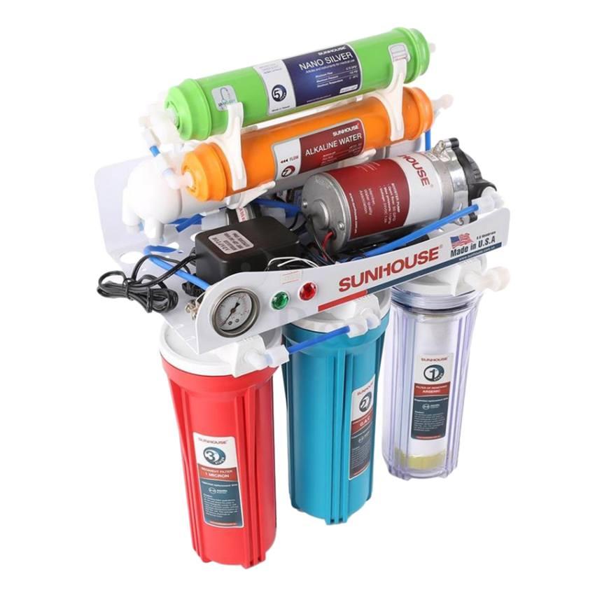 Máy sử dụng quy trình đạt chuẩn, nước uống được trực tiếp mà không cần đun sôi