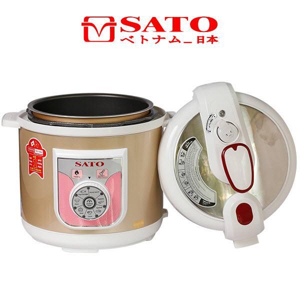 Nồi áp suất điện đa năng Sato ST-601PC