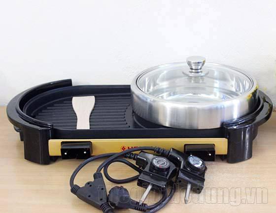 bếp lẩu nướng điện Hanel HN-CL01 2 dây