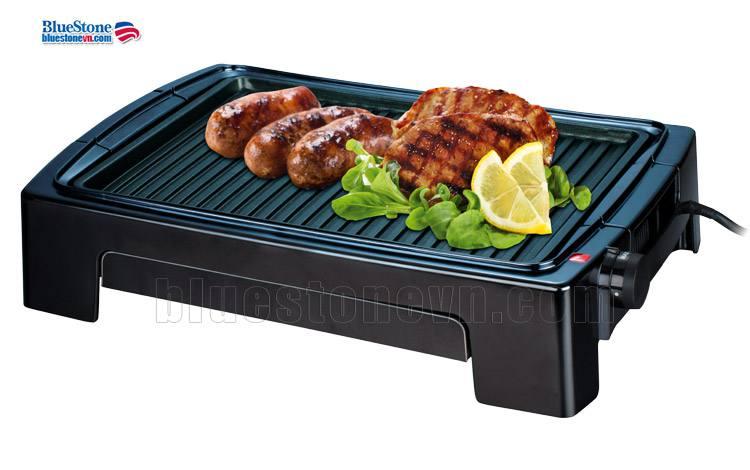 Bếp nướng điện BlueStone EGB-7418 có khay nướng rời dễ dàng vệ sinh sau khi sử dụng