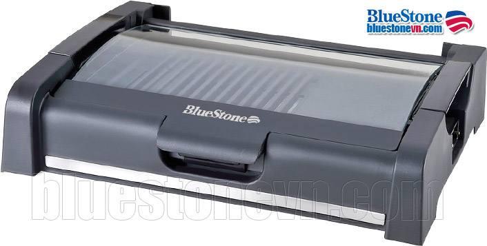 Bếp nướng điện không khói BlueStone EGB-7455 có nắp kính, phủ chống dính Ceramic an toàn cho sức khỏe