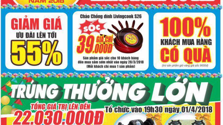 khai trương vietmart co so 4 574 Quang Trung