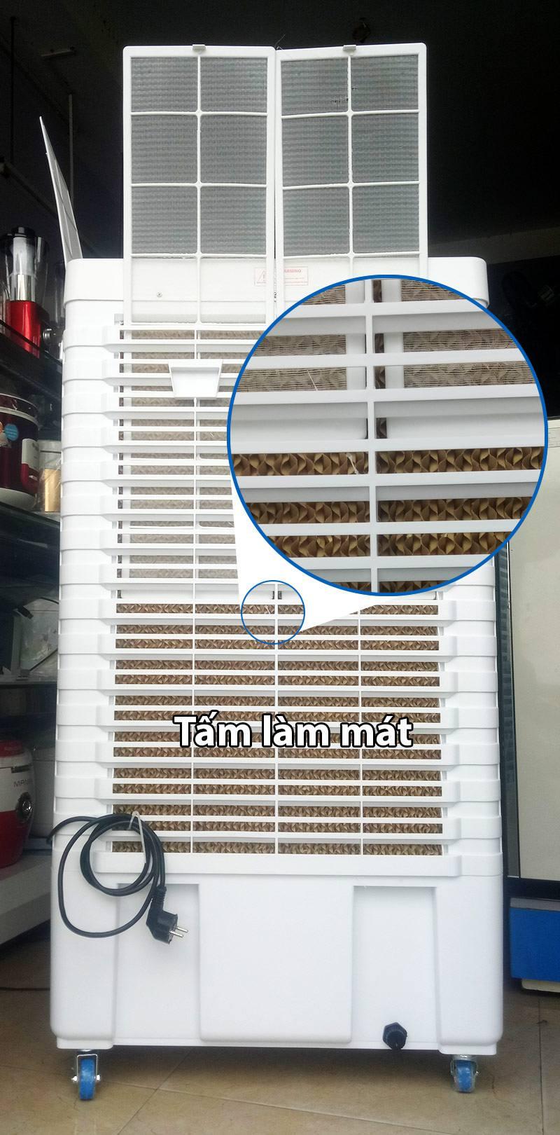 Tấm làm mát và lọc bụi của quạt Osaka LL60