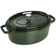 Nồi Staub-Cocotte Olive Green 31cm oval