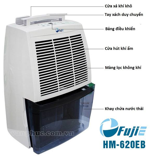Máy hút ẩm Fujie HM-620EB