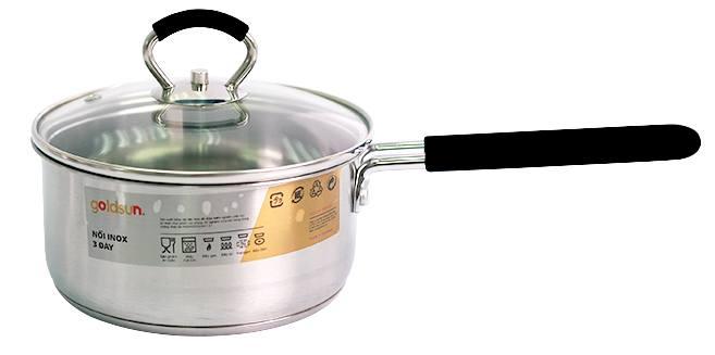 Bo noi inox 4 chiec Goldsun GH18-4308SG