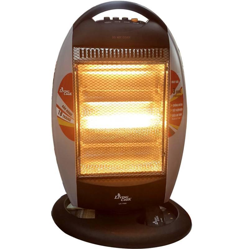 Đèn sưởi ấm phòng 3 bóng halogen