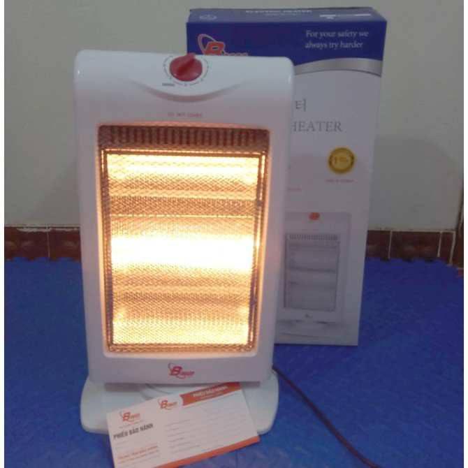 Quạt sưởi phòng Bosco BC-H201 3 bóng ấm hiệu quả