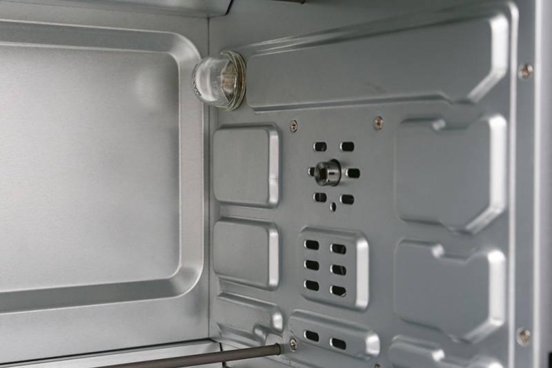 Lo nuong Sanaky VH-3599S2D-N2D có đèn chiếu sáng và quạt đối lưu